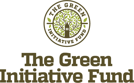 The Green initiative Fund logo in green